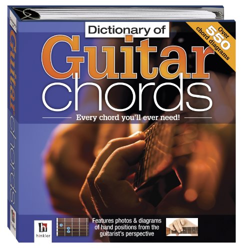 9781741838091: Dictionary of Guitar Chords (Small Binder Series)