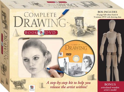 9781741838190: Complete Drawing (Book, DVD and Artist Model Kit)