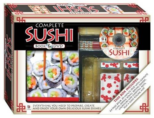 9781741838473: Complete Sushi Book and DVD (PAL) (Complete Box)