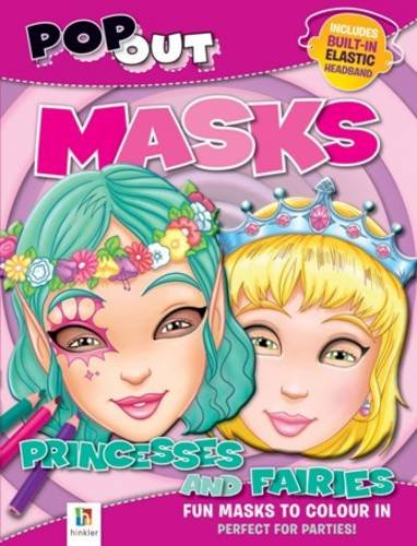 9781741840100: Pop Out Masks Princesses and Fairies