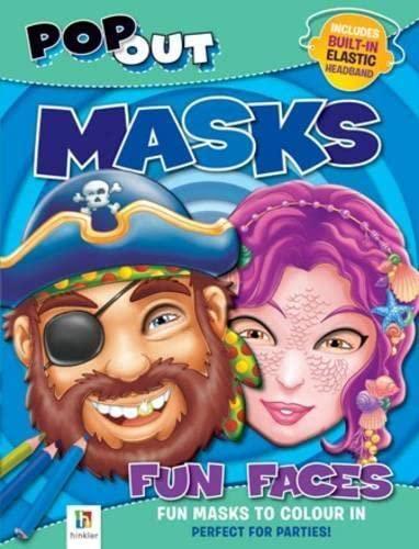 9781741840117: Pop Out Masks Fun Faces