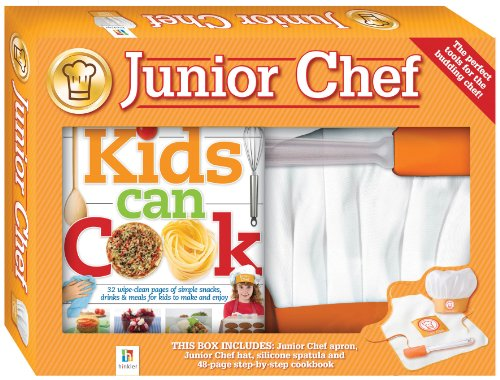 Junior Chef (Gift Boxes) (9781741840155) by Hinkler Books