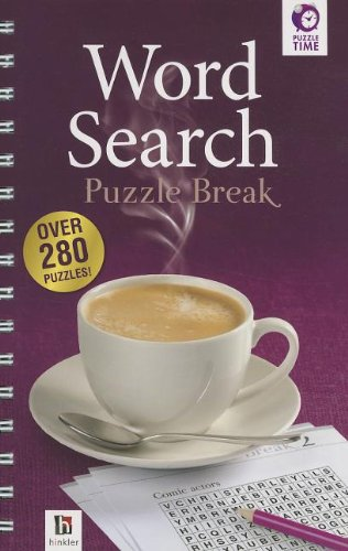 9781741840513: Word Search Puzzle Break (Puzzle Time)