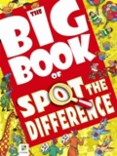 9781741841435: Big Book of Spot the Difference (Big Book of Series)