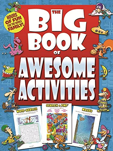 The Big Book of Awesome Activities (Paperback): Hinkler Books Pty Ltd