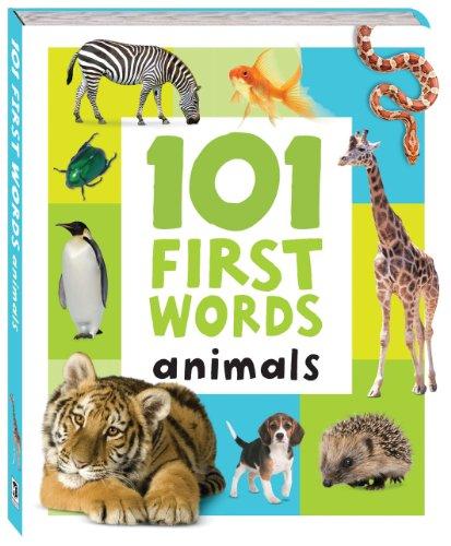9781741847499: 101 First Words: Animals
