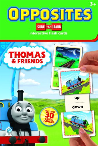 Thomas & Friends Slide & Learn Interactive Flash Cards: Opposites: Hinkler Editors