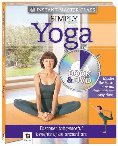 9781741847789: Simply Yoga book and DVD (PAL) (Instant Master Class)