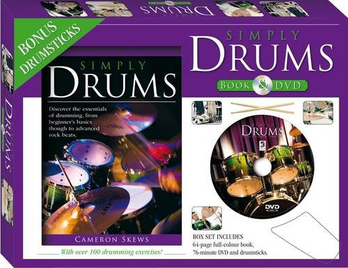 9781741849059: Simply Drums Book and DVD (PAL) (Gift Box)