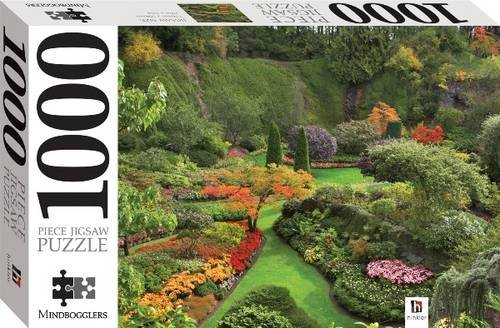 9781741850505: Ornamental Garden 1000 Piece Jigsaw (Mindbogglers Series 1)