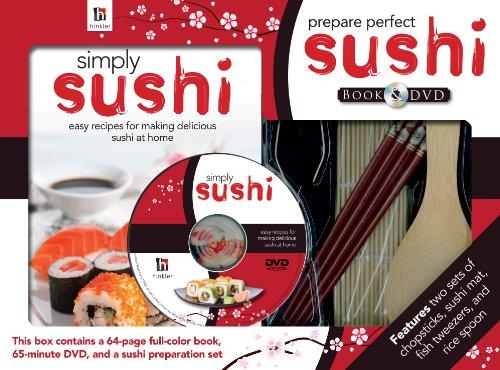 9781741852691: Prepare Perfect Sushi Book and DVD