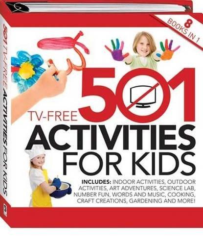 9781741852721: 501 TV Free Activities for Kids (Binder)