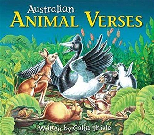 9781741852899: Australian Animal Verses