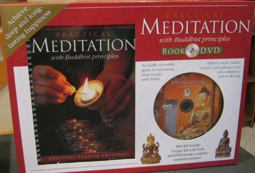 Practical Meditation with Buddhist principles (book and