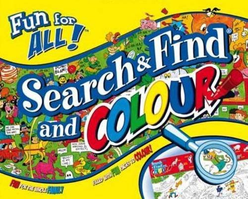 9781741855166: Search and Find and Colour (Fun for All)