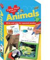 9781741856989: Animals (Jigsaw Flash Cards)