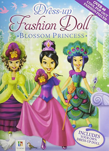 9781741857863: Dress-Up Fashion Dolls: Blossom Princess