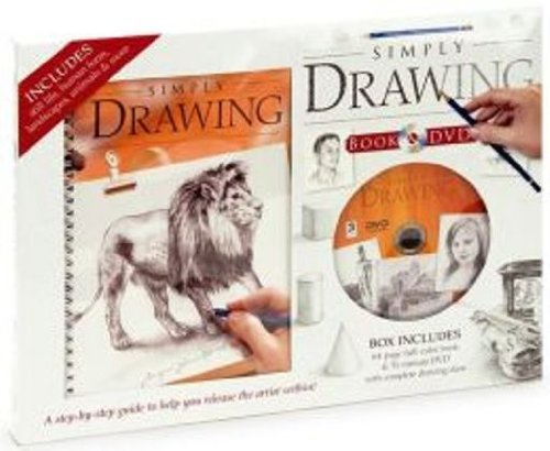 9781741859379: Simply Drawing Book & DVD