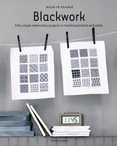 9781741966022: Made in France: Blackwork: Fifty Simple Embroidery Projects in Traditional Black and White