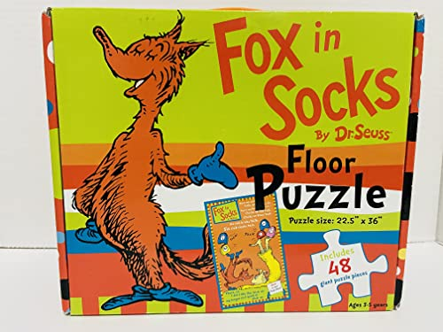 Fox in Socks Floor Puzzle (9781742113418) by Dr. Seuss