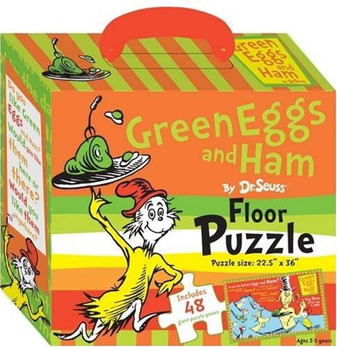9781742113432: Green Eggs and Ham Floor Puzzle