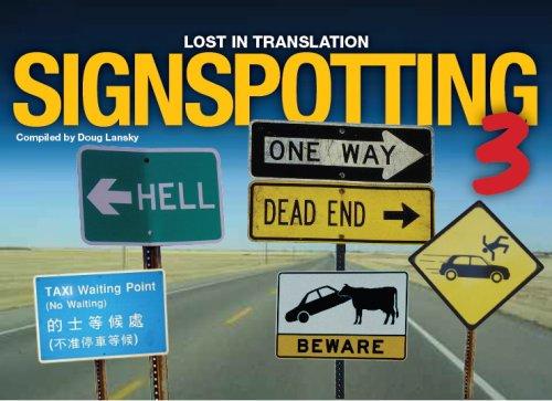 9781742116525: Signspotting: v. 3: Lost in Translation