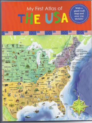 9781742118222: my first Atlas of the USA