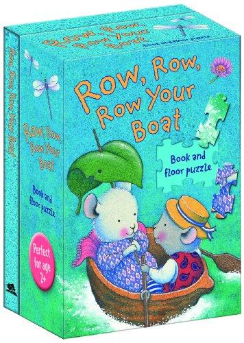 Row, Row, Row Your Boat (Nursery Songs Book & Floor Puzzle): Trace Moroney