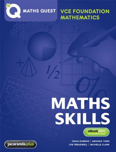 Maths Quest VCE Foundation Mathematics & eBookPLUS (Paperback): Jacaranda