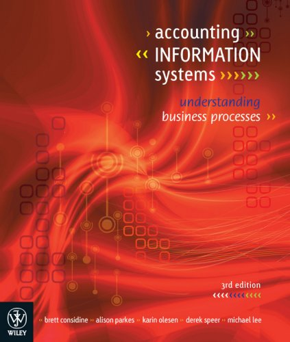 9781742165554: Accounting Information Systems: Understanding Business Processes