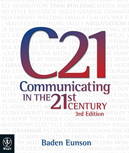 9781742166179: Communicating in the 21st Century 3E iStudy Version 1