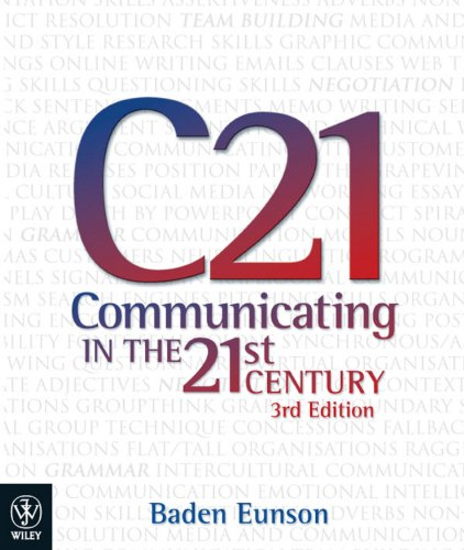 9781742166322: Communicating in the 21st Century: ebook