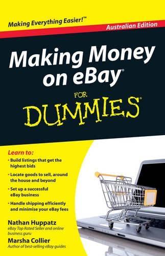 Making Money on EBay for Dummies (Paperback): Nathan Huppatz