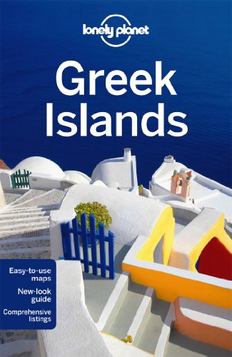 Travel Guide Greek Islands by Alexis Averbuck 2014 Paperback Revised