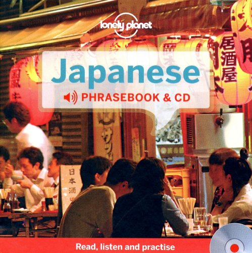 9781742209692: Lonely Planet Japanese Phrasebook and Audio CD (Lonely Planet Phrasebooks)