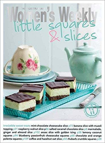 9781742450599: Little Squares & Slices. (The Australian Women's Weekly: New Essentials)