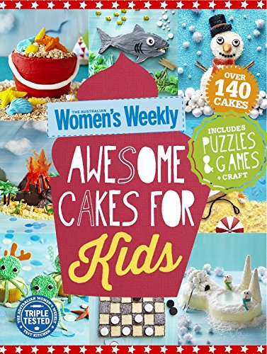 9781742456287: Awesome Cakes for Kids (The Australian Women's Weekly)