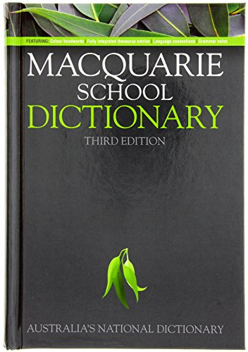 9781742460734: Macquarie School Dictionary (Macquarie Series)