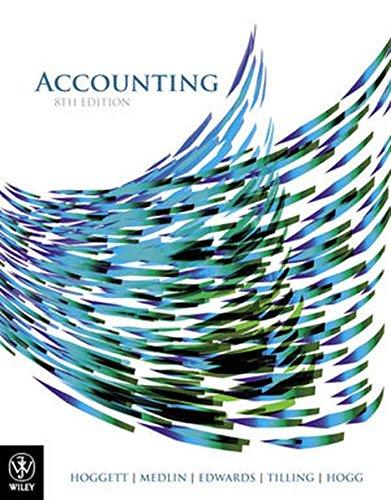 Accounting: Hoggett, John; Medlin,
