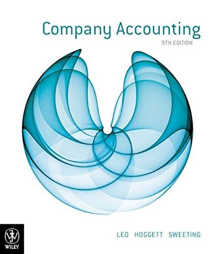 Company Accounting (Paperback): Ken J. Leo