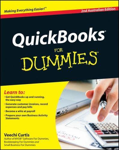 9781742468969: Quickbooks for Dummies