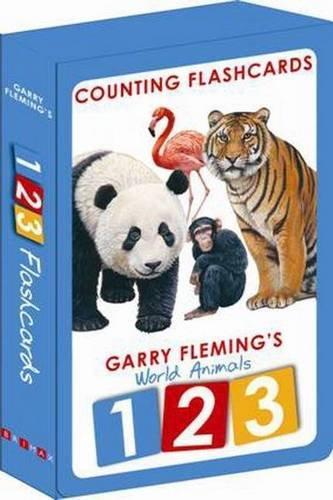 9781742480909: World Animals Flashcards 123