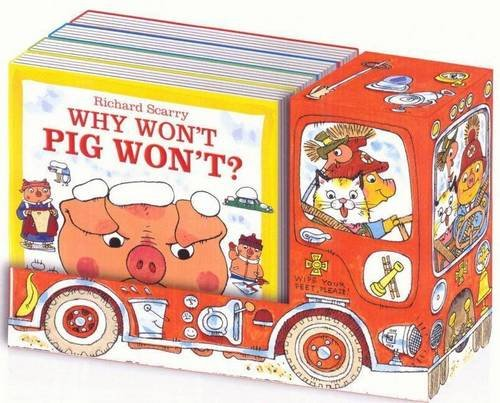 Richard Scarry Fire Engine: Richard Scarry