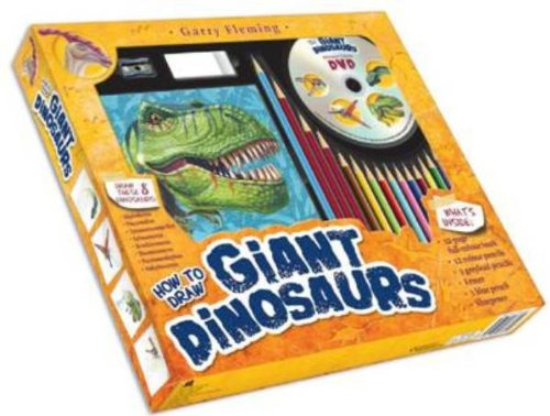 9781742483894: Garry Fleming's How to Draw Giant Dinosaurs