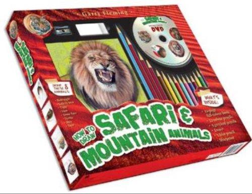 9781742483924: Garry Fleming's How to Draw Safari & Mountain Animals