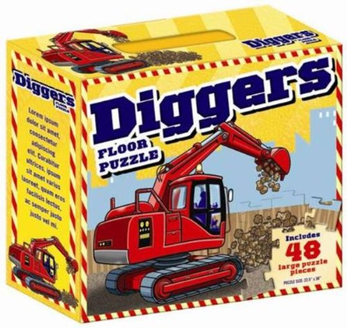 9781742484136: Diggers Floor Puzzle