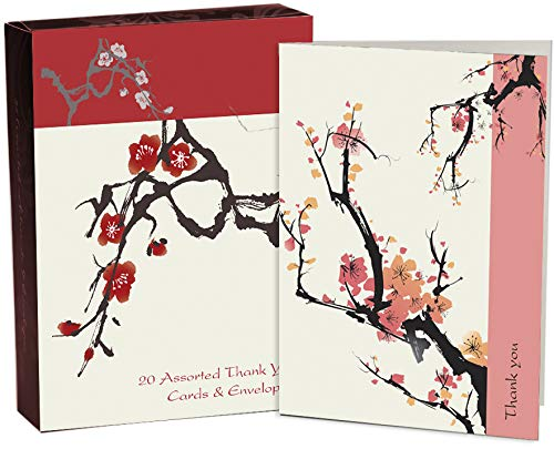 9781742570068: Japanese Thank You Cards: 20 Assorted Thank You Cards & Envelopes