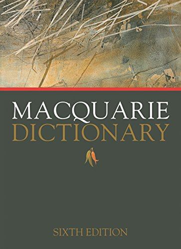 9781742619934: Macquarie Dictionary Sixth Edition