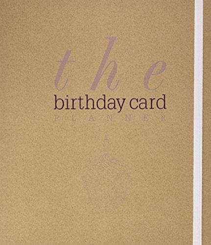 9781742680026: Birthday Planner (Spank Stationery)
