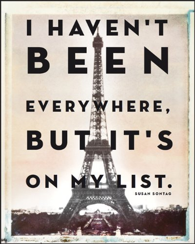 9781742682143: I Haven't been Everywhere... Travel Journal
